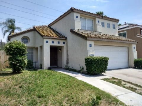 Two story Southridge Village home in quiet neighborhood. Kitchen has granite counter tops. Family room has fireplace. Wood laminate flooring throughout. Two car attached garage. Low maintenance back yard with patio. Easy freeway access.