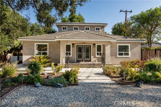 930 Wildrose Avenue, Monrovia, CA 91016