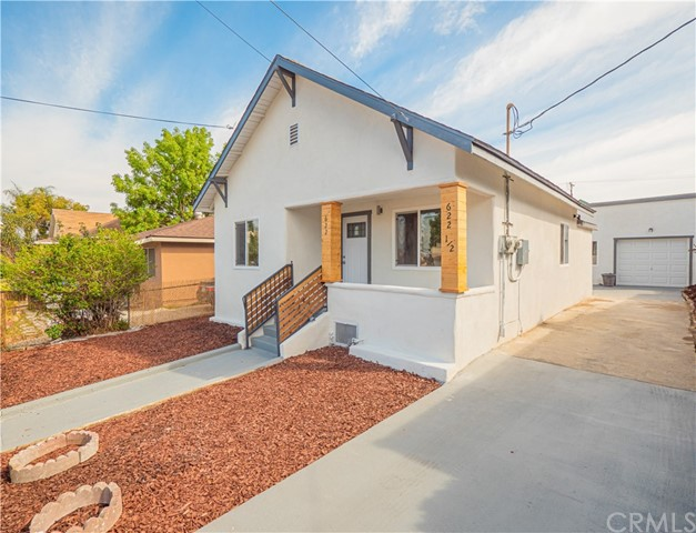 Location! Location Location! TRULY ONE OF A KIND!!! 2 UNITS centrally located in the heart of Boyle Heights! LIVE IN 1 & RENT THE OTHER! EXCELLENT UNIT MIX! Front unit consists of of a 3 bedroom 1 bath home and the rear unit is a 2 bedroom & 1 bath. Front home has a rear exit that leads to the newly hardscaped rear yard & long driveway. Front unit kitchen has island with built in hood & kitchen bar for entertaining as you cook up a storm.  Open floor plans which encompass the living room, dining area as well as kitchen. Newly installed modern almond accented laminate wood flooring throughout. Updated bathrooms in both units with new vanities, light fixtures, tiled shower walls etc.  West facing living rooms in each unit = plenty of natural light illuminating the space. Both units have newly installed kitchen cabinets & custom granite countertops. Newer light fixtures & recessed lighting throughout! Long driveway leads to the rear yard & a spacious newly cemented area=plenty of parking. Drought tolerant land/hardscape. Walk Score® of 82. TransitScore® of 70. Close to public transport, shops, restaurants, schools, Cal State LA, DTLA & various fwys: 10, 60, 710, 5 & 101 fwys. About 0.6 miles from the Metro Gold line (Runs from Azusa/East LA). Short distance to several Metro bus lines. Info deemed reliable but not guaranteed. Buyer to verify all info & entire condition on their own & must satisfy themselves as to all aspects of this property.