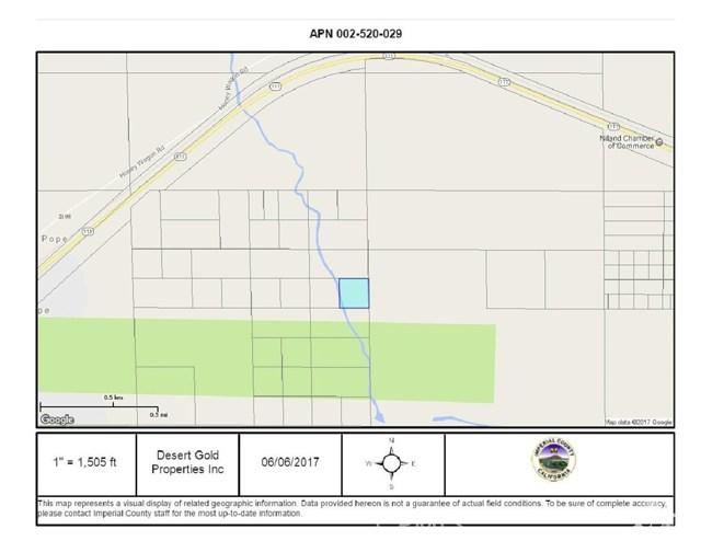 10 ac Water Way, Niland Area, Salton Sea, CA 92257