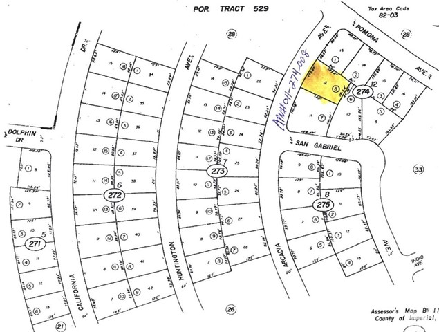 1215 Arcadia Avenue, Salton City, CA 92275