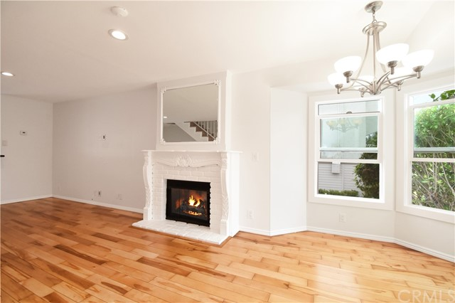 Family Room with Fireplace!