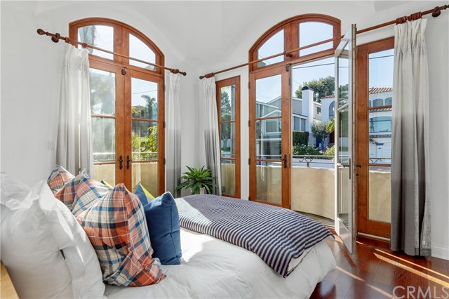 Front Bedroom with wonderful french doors!