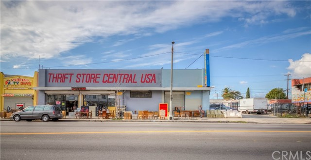 A Free Standing Building with Single Tenant (Thrifty Shop), Heavy Traffic on Central Ave Between Florence and Manchester, Appx. 7600 sq.ft. Retail Building on C-2 Zone Land of 12,000 sq.ft. Property Address is 7913-7915-7919 S. Central Ave. 2 Separate APN (6029-004-005, 6029-004-030), Current Tenant Rental Income is $6500/M and Lease Expires 3/31/2025,