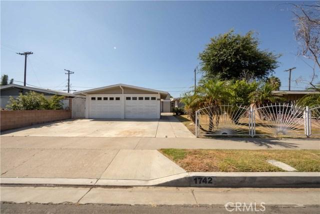 1742 E Chelsea Drive, Anaheim, CA 92805
