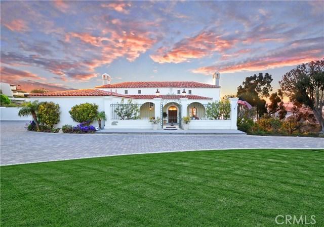 915 Via Panorama, Palos Verdes Estates, CA 90274