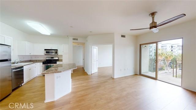Open-style kitchen