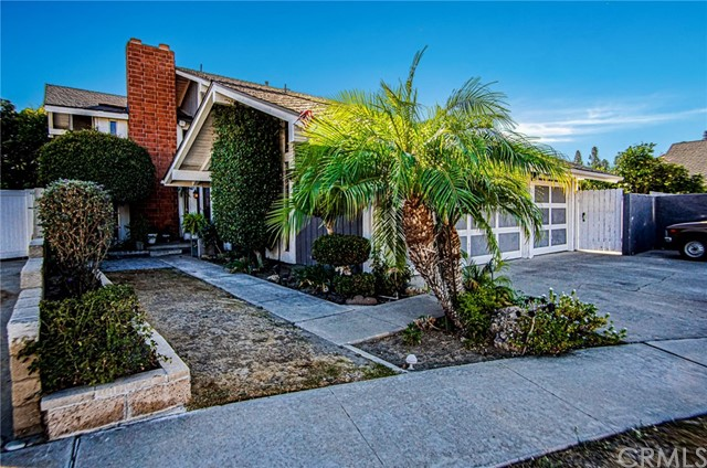 PRICE REDUCED -- Welcome to this Highly Desirable Area of Anaheim. 4 Bedrooms 3 Bath Pool Home.  Open floor plan with upgraded Kitchen. Crown Molding and Double pane windows. Spacious Family Room with Fireplace. All bedrooms upstairs. Has Master Suite with Fireplace and Ceiling Fan. Central Air/Heat.