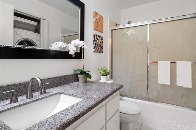 Full bathroom with bath tub located at the second floor.