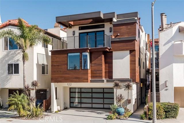 122 Manhattan Avenue, Hermosa Beach, California 90254, 3 Bedrooms Bedrooms, ,1 BathroomBathrooms,For Sale,Manhattan,SB18007639