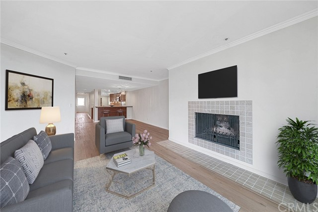 Virtually Staged - Living room