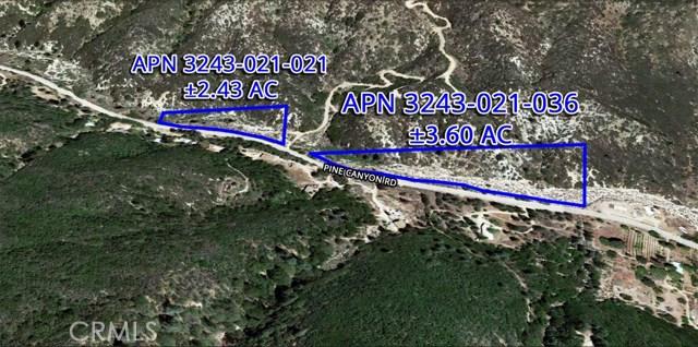 0 Vac/Pine Canyon Pav /Vic Judy, Lake Hughes, CA 93532