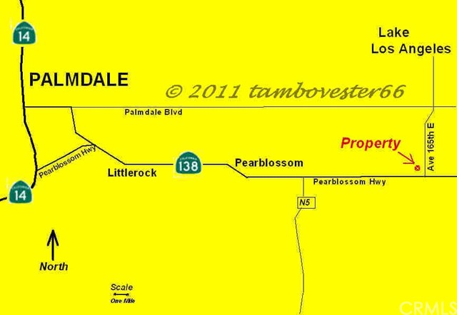 0 Vac/Vic 161 Ste/Ave U12, Pearblossom, CA 93591
