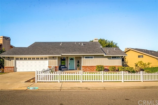 210 Valley View Drive, Pismo Beach, CA 93449