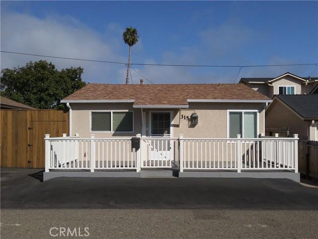 315 Santa Fe Avenue, Pismo Beach, CA 93449