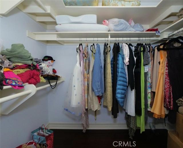 Walk-in Closet in Ensuite Bedroom #2