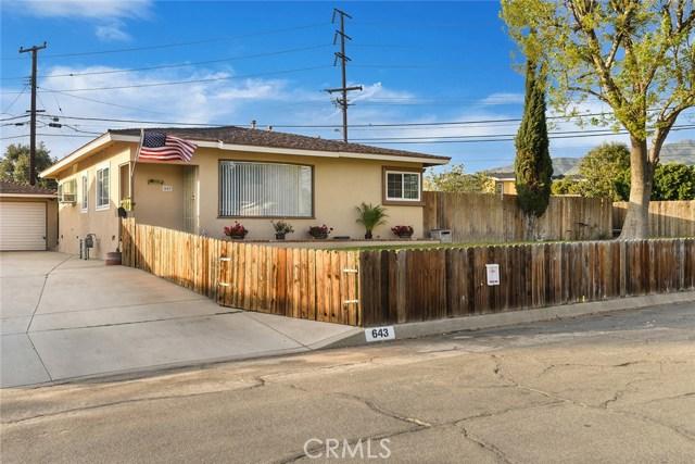 643 N Billow Drive, San Dimas, CA 91773
