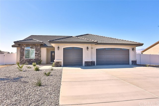 ***Stunning NEW CONSTRUCTION***Located in SOUGHT AFTER Area Of Hesperia**Features 4 Bedrooms, 3 FULL BATHS and a 3 CAR GARAGE**Beautiful QUARTZ Counters & Stainless Steel Appliances***Ceiling Fans** Raised panel doors**Upgraded base**Beveled Edge Subway tile backsplash & Stucco Covered Patio**