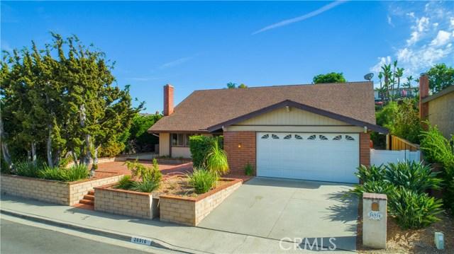 26916 La Sierra Drive, Mission Viejo, CA 92691