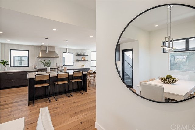 Stylish points of view around each corner (shown here using reverse of 961 Unit A staging)