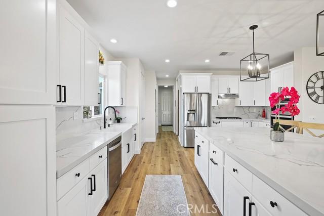 Storage, storage, storage in this new kitchen!