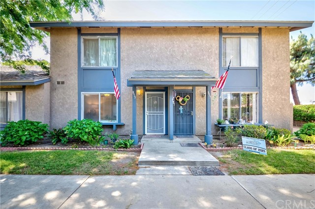 Upgraded Affordable Townhome in Windwood Community, 3 BR + 1.5 BA, 2 Car Garage With Direct Access, Private Patio, Laminated Wood Floor Thruout, Tile Floor in Kitchen Area with Laundry Room Inside, New Water Heater and Dishwasher, Central AC & Heating, Ceiling Fans on Each Rooms, Located in Walnut Valley School District, HOA Covers Trash, Termite & Roof Repair, Community Park & Pool, Very Bright & Airy, Conveniently Close to Shopping & Freeway...