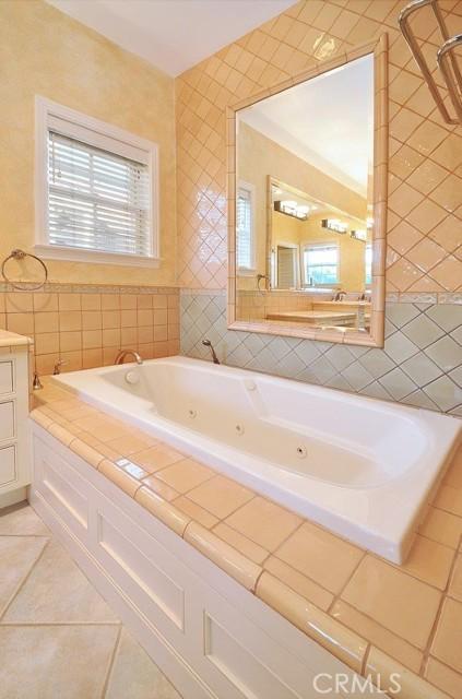 Main bath tub area