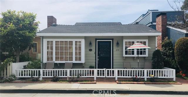 219 Abalone Avenue, Newport Beach, CA 92662