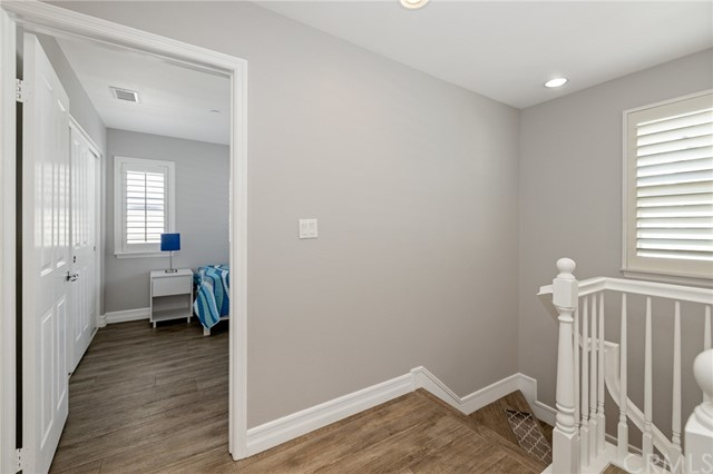 2nd bedroom at the top of the stairs