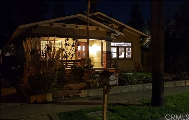 Welcome to Historic Old Town Orange! This charming Craftsman boast Pride of Ownership located in the heart of Old Town Orange. Property features original front door, original hardware, original windows, original wainscoting, door and window casing. Every inch of this unique and historic property has been maintained with love and care. Sit back and relax with a cup of your favorite coffee in the front porch or enjoy the Southern California indoor/outdoor life style in the sprawling entertainers back deck with a built in barbecue. Enjoy dinner or breakfast the Southern California way. This two bedroom / one bath is nestled blocks away from the Orange Circle and Chapman University. You can stroll down the streets with beautiful historic homes to the many shops and fine restaurants Old Town Orange has to offer. The Metro link Train Station is walking distance. Love Where You Live! You are investing in a life style. This home is also eligible for The Mills Act. (The Mills Act is a California state law that allows cities to enter into contracts with the owners of historic structures. Such contracts require a reduction of property taxes in exchange for the continued preservation of the property). Zoned Residential / Commercial.