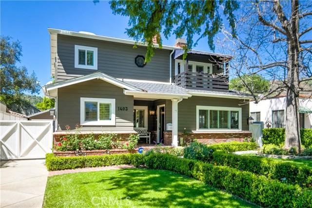 1403 Linda Vista Avenue, Pasadena, CA 91103