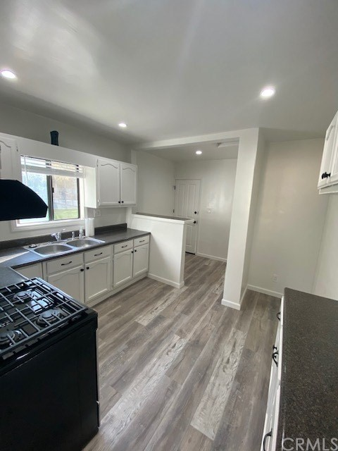 Here is your opportunity to live in the trending neighborhood of City Terrace near Keck School of Medicine, Cal State LA, Down Town L.A., L.A. Arts District. This rental features a remodeled 3 bedrooms/1 bathroom. New Flooring throughout, New Paint throughout, New Stove & New Air Conditioners/Heaters.  Sit down, relax and look down on the street at the neighborhood and park from the living room bay windows as you enjoy morning coffee. The kitchen is very functional for that aspiring chef with a window overlooking the park and neighborhood. Enjoy exercising across the street at City Terrance Park by walking, jogging, basketball, handball, & the tennis. Walk to local restaurants, cafe's, convenience markets, bakery, barbers, laundry mats and public transportation and don't forget the nearby middle school, Robert F Kennedy Elementary. Enjoy grilling in your very own dedicated patio in the evenings and weekends that offers a view towards the park. There are 2 homes on this property detached from one another. This home is the front home for rent.