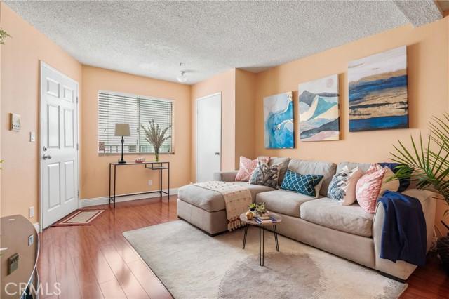 Living Room with closet.