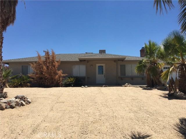 73941 Playa Vista Drive, 29 Palms, CA 92277