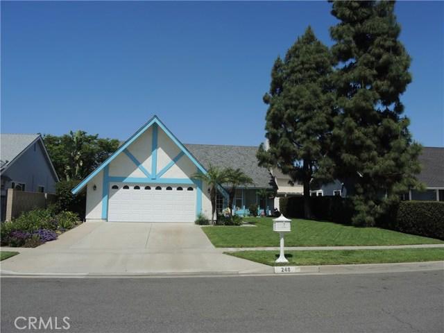 240 N Avenida Cordoba, Anaheim Hills, California