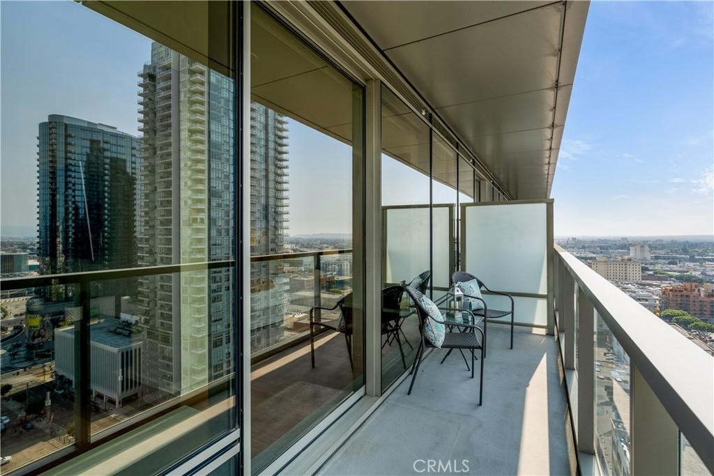 Unit balcony
