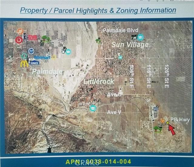 0 Vac/Pearblossom Hwy Pav /V, Palmdale, CA 93553