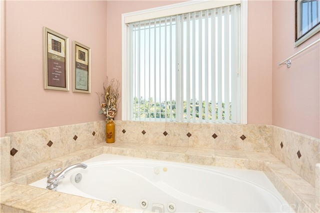 Spa Garden Tub in Master Bathroom