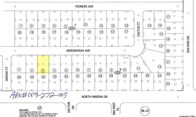 2624 Arrowhead Avenue, Salton City, CA 92275