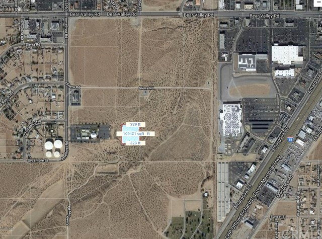 0 East of Amethyst Rd, Victorville, CA 92392