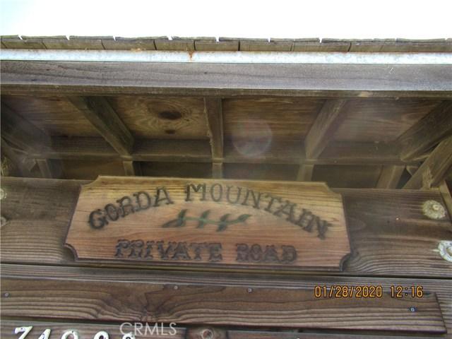 27 GORDA MOUNTAIN Road, Gorda, CA 93920