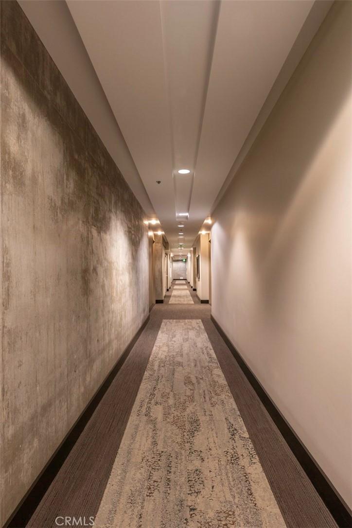 Hallway Entry to Front Door