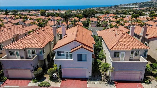 ENJOY OCEAN VIEWS AND AN AMAZING OCEAN BREEZE IN THIS MOVE IN READY HOME INSIDE PRESTIGIOUS GAURD GATED COMMUNITY OF MONARCH BEACH. Freshly painted throughout. LOTS of natural lights, Open floor plan, Cozy living room with high ceiling and beautiful fireplace. Luxury marble flooring throughout downstairs and brand new carpet all upstairs. Upgraded kitchen with stainless steel appliances and breakfast nook area. Nice size yard great for entertaining with views of pacific ocean. Master bedroom with high ceiling and amazing ocean view balcony . Master bathroom with granite countertops and huge walking closet. Two car direct access garage with brand new epoxy flooring. AMAZING LOCATION ACROSS FROM MONARCH BEACH RESORT, SHORT DISTANCE FROM SALT CREEK BEACH, RITZ CARLTON. ACCESS TO MONARCH BEACH GOLF COURSE AND MONARCH BEACH TENNIS CLUB. PROXIMITY TO DANA POINT HARBOR AND LANTERN DISTRICT WITH LOTS OF SHOPS AND RESTAURANTS. VIRTUAL TOUR ATTACHED.