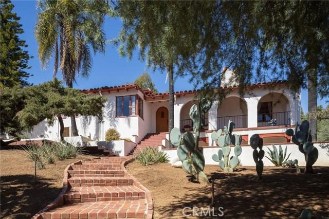 1804 Valle Vista Drive, Redlands, CA 92373