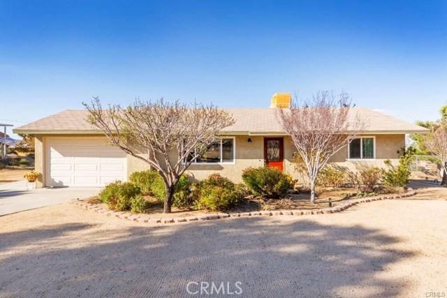 60292 Pueblo Trail, Joshua Tree, CA 92252