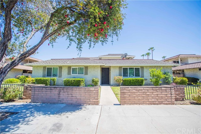 Rare opportunity to own a nearly 5,000 sq ft fourplex in the Villa Santiago tract Fullerton.  One single level 3BR/2Ba with a fireplace and two patios, and three 2BR/2Bas. Each unit has central heating and air conditioning, individually metered for both gas and electricity and a 2-car tandem garage. There are plenty of parking, 8 in the garages, 5 open spaces and street parking. The building comes with an onsite coin operated community laundry. This fourplex is located in a prime area near the Coyote Hills Golf course, close to Brea Mall, Cal State Fullerton, easy access to the 57 Fwy, to shopping and restaurants. Enjoy all that downtown Fullerton has to offer.