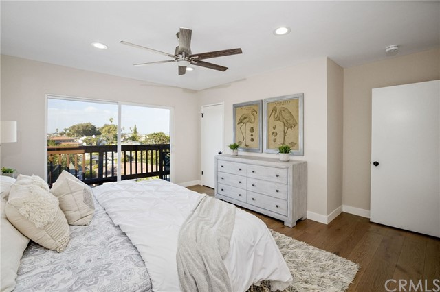 Spacious upper level bedroom 1 - could be used as the master
