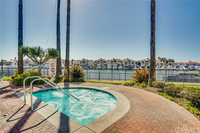 This Relaxing Spa Overlooks the Harbor. Enjoy Stargazing and Boats floating by.