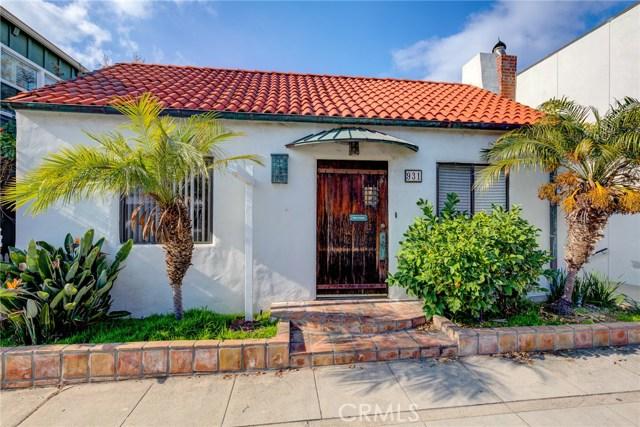 931 Manhattan Avenue, Hermosa Beach, California 90254, 3 Bedrooms Bedrooms, ,2 BathroomsBathrooms,For Rent,Manhattan,SB20005298
