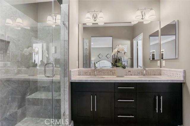 2nd Bathroom with Dual Sinks and Upgrade Backsplash